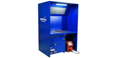 RoboVent CrossFlow - Model Table - Compact, Self-Contained Welding Bench and Source Capture System