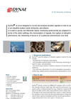 SysTeo - Software for the Temporary Monitoring of Rotating Machinery - Brochure