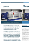 DuroPure - Non-Vented Carbon Air Recycling Filtration Unit Brochure