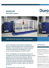 DuroCap - Modular Indoor Air Filtration, Extraction System Brochure