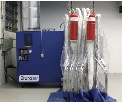 DuroCap - Industrial Vented Air Filtration System