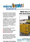 DB20 - Versatile Micro Baler With Detachable Bin Brochure