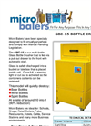 Micro Balers - GBC15 - Glass Botle Crusher Brochure