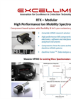 Excellims - Model RTK Modular - ModularHigh Performance Ion Mobility Spectrometry (HPIMS) System - Brochure