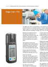 Drager - X-am 1700 - Ex, O2, CO, H2S Disposable Unit for Multi Gas Detectors Datasheet