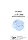 Zefon - Air-O-Cell - Sampling Cassette - Box of 10 User Manual