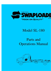 SwapLoader - SL-180 (18,000 lb. Capacity) - Hook Lift Manual