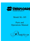 SwapLoader - SL-185 (18,000 lb. Capacity) - Hook Lift Manual
