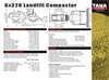 Tana - Model E320 - Landfill Compactors Technical Specifications