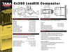 Tana - Model E380 - Landfill Compactors Technical Specifications