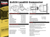 Tana - Model E520 - Landfill Compactor Technical Specifications