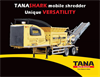 Tana - Shark Slow-Speed Shredders