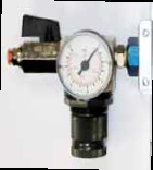 Pressure Regulator with Isolation Valve