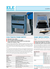 Model 23-6191/01 - Bench Mounting Mixer Brochure