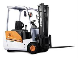 Electric 3 Wheel Counterbalance Forklift Trucks