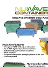 Nuwave Unibody Containers Features & Benefits Brochure