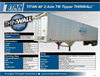 THINWALL - Model TITAN 48Inch - 2 Axle TW Tipper - Brochure