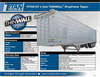 THINWALL - Model TITAN 53Inch - 4 Axle Dropframe Tipper - Brochure
