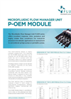 P-OEM series - Microfluidic Flow Manager Unit Brochure