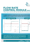 FRCM - - Flow Rate Control Module Software Brochure