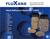 Fluxana - Metal Reference Materials - Chips - Catalogue
