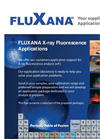 Fluxana X-Ray Fluorescence Applications Brochure