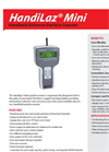 Handilaz - Model Mini Series - Handheld Particle Counter - Brochure