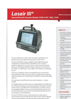 Lasair III - Model 310 - Aerosol Particle Counter - Brochure
