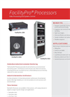 FacilityPro - Processors -Environmental Monitoring System - Brochure