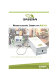 Model PA201 - Research Photoacoustic Gas Cell For Laser Sources- Brochure