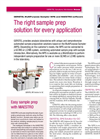 Model SPME - Solid Phase Microextraction System Brochure