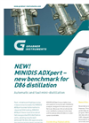 MINIDIS - - ADXpert Automatic Mini-Distillation Datasheet