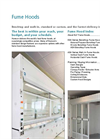 HLF - Fume Hoods - Catalogue