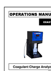 Chemtrac - Model CCA3100 - Coagulant Charge Analyzer - Manual