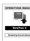 Chemtrac - Model HydroACT 600 with DuraTrac 4 - Streaming Current Charge Analyzer - Manual