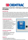 PC5000 Portable Liquid Particle Counter