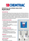 HydroACT Residual Chlorine Analyzer Data Sheet