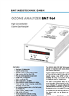 BMT - Model 964 - Ozone Analyzers Brochure