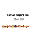 Hanson Buyers Guide Catalogue