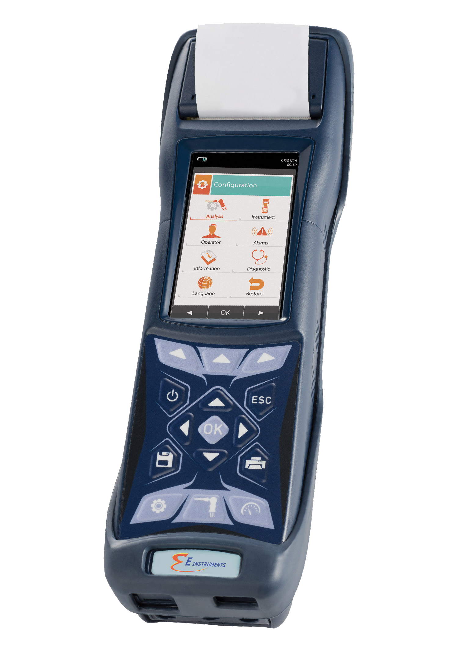 Automatic Data Logging For The NEW E6000