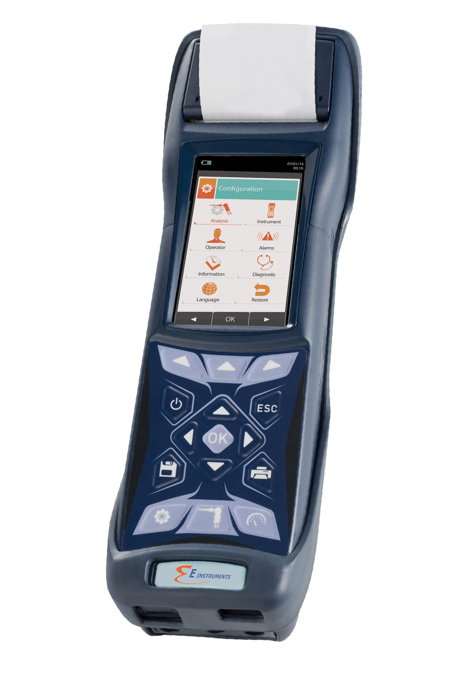 NEW E4500-S Hand-Held Combustion Emissions Analyzer with NOx & SOx