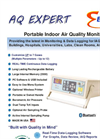 E-Instruments - Model AQ Expert - Portable Indoor Air Quality Monitor - Brochure