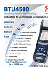 E-Instruments - Model BTU 4500 - Hand-Held Commercial and Industrial Gas Analyzer - Brochure