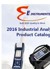 2016 Industrial Analyzers Product Catalog