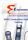 HVAC Combustion Analyzer Catalog