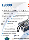 E Instruments - Model E9000 - Advanced Transportable Emissions Analyzer - Brochure