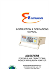 AQ Expert - Portable Multifunctional Indoor Air Quality Monitor - Manual