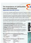 The Importance of Combustible Gas Leak Detection - Application Note