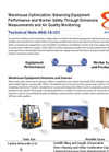 Warehouse Optimization: Balancing Equipment Performance and Worker Safety Through Emissions Measurements and Air Quality Monitoring - Technical Note