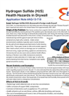 Hydrogen Sulfide (H2S) Health Hazards in Drywall - Application Note